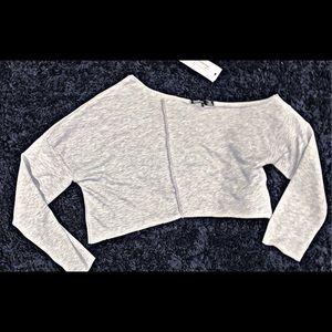Boohoo   One Shoulder   Crop Sweater   NWT